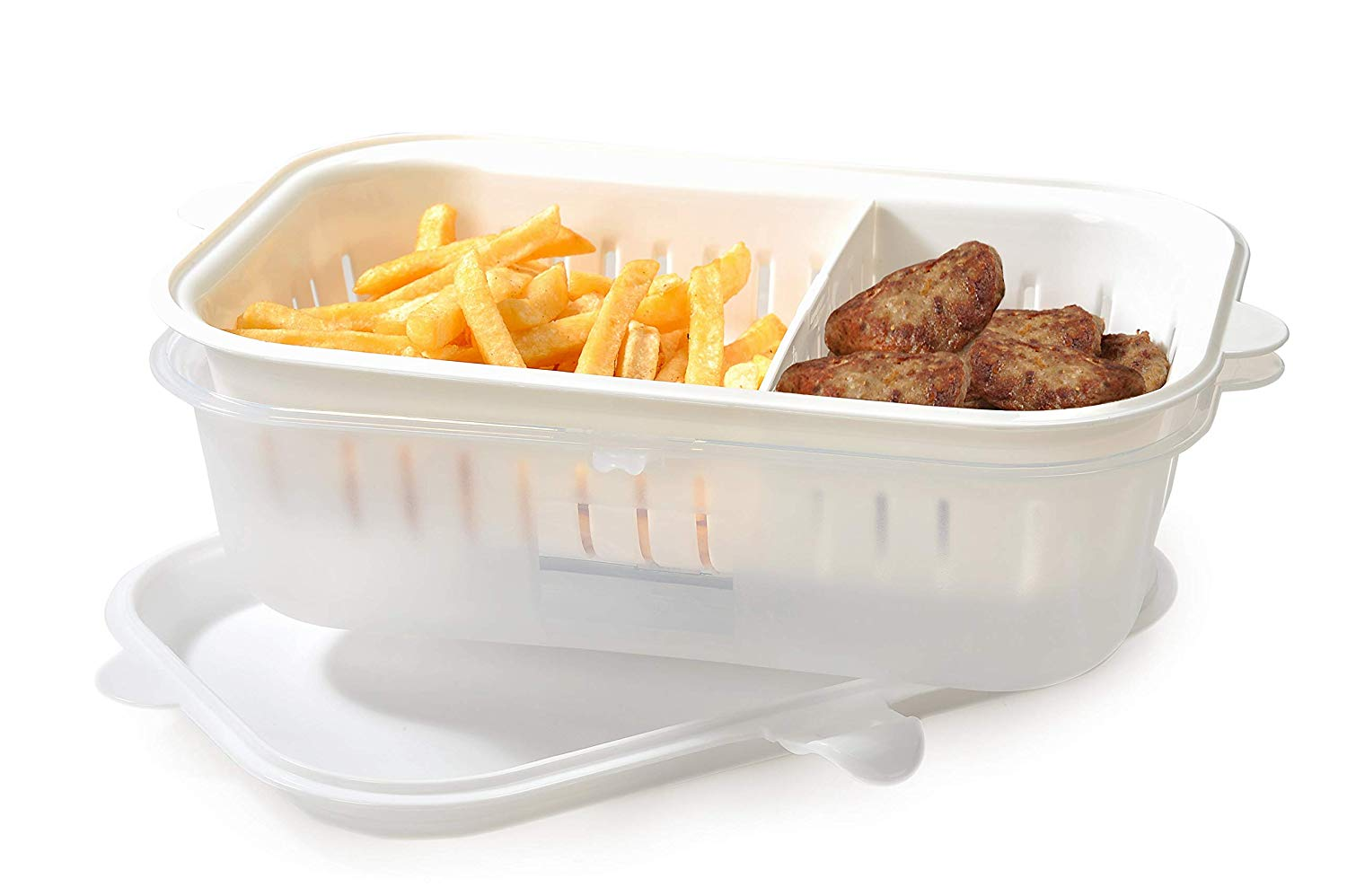 Mabel Home Plastic Food Storage Container With Lid Fried